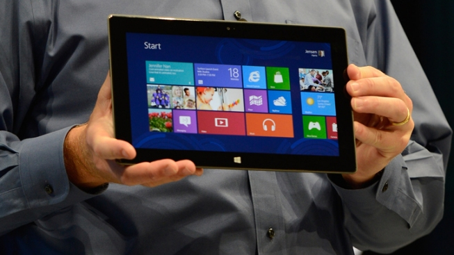 "Microsoft Unveils New ""Surface"" Tablet"