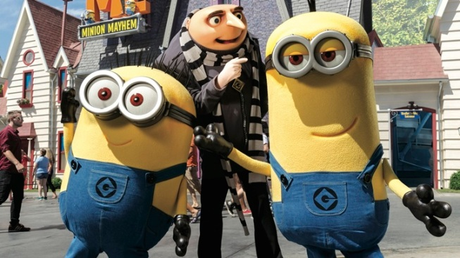 Minions Make Merry at Universal CityWalk