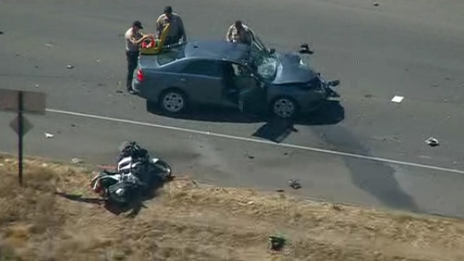 Motorcycle Officer Injured in SR-78 Collision