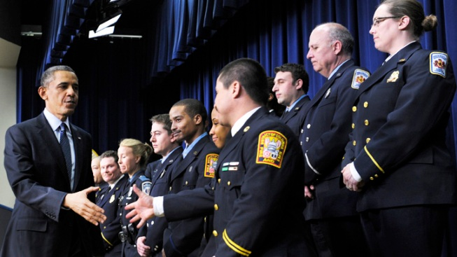 D.C. Fire and EMS Reviewing Protocol After Firefighters Appear With President Obama