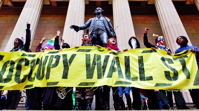 Occupy Wall Street Activists Celebrate 2nd Anniversary