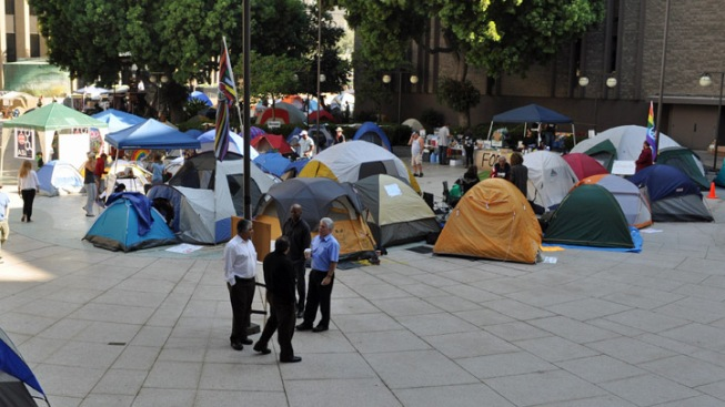 No More Tents for Occupy SD