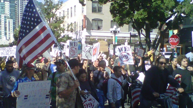 Tea Party to Denounce Occupy SD Violence
