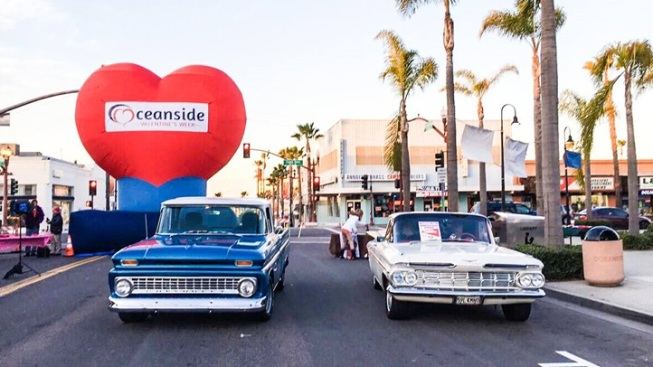 Huge Heart: Valentine's Week in Oceanside