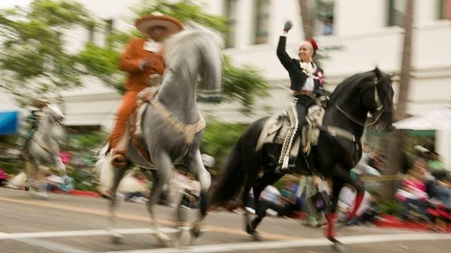 Old Spanish Days Gallop for Santa Barbara
