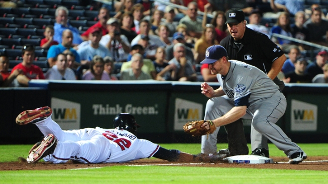 Braves shut out Padres, 6-0