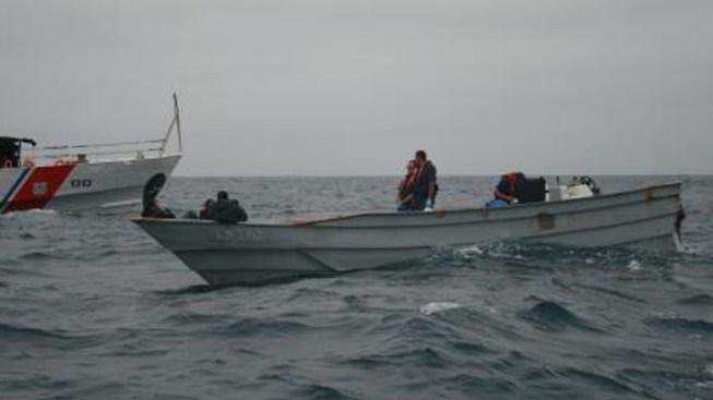 Panga Boat Loaded With Marijuana Seized