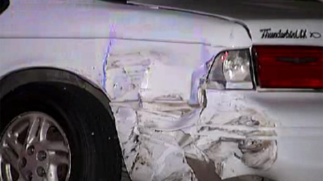 Suspected DUI Driver Slams Parked Cars