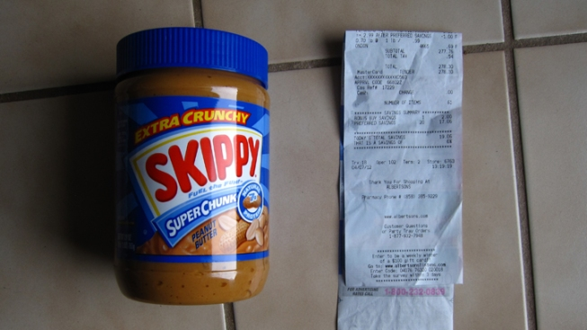 Store Charges Woman $167 for Peanut Butter
