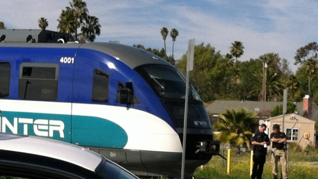 Pedestrian Struck, Killed by Sprinter Train
