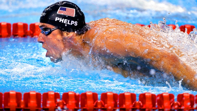 Olympic Viewing Guide - Swimming Day 1 and Phelps Hits the Pool