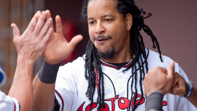 Manny Draws Wild Applause For Striking Out