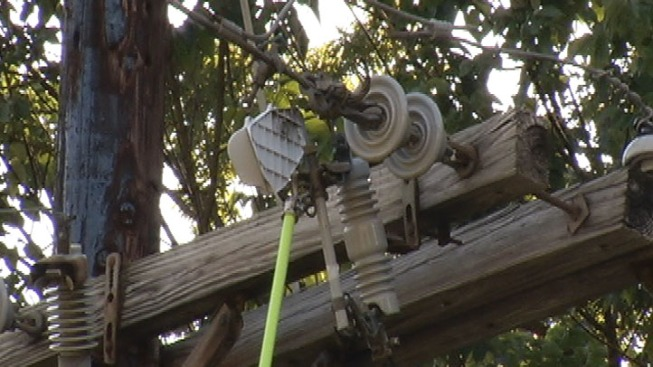 SDG&E Shuts Off Power to East County Homes Amid Fire Danger