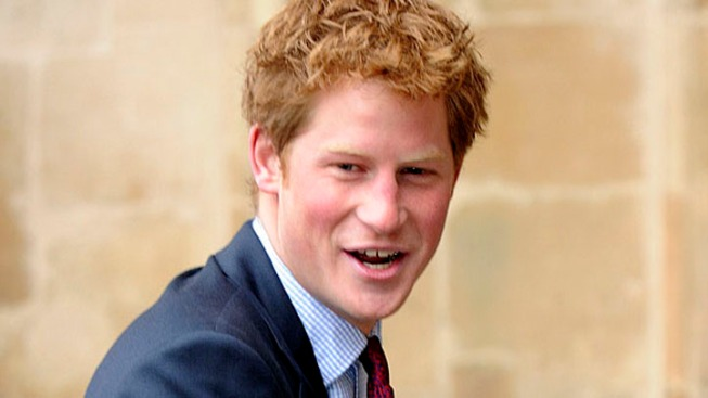 Prince Harry Arrives in El Centro