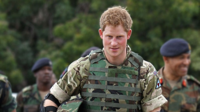 Prince Harry Returns to US