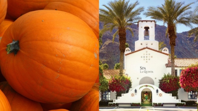 Pumpkin Treatments Autumn-Up Spa La Quinta