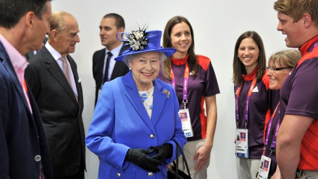 Queen Tours Olympic Park after Debut as Bond Girl