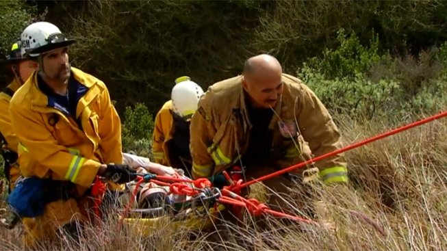 Man Freed From Clairemont Ravine