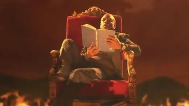 "LeVar Burton Turns Into Evil, Power-Hungry God in ""Reading Rainbow"" Video Parody"