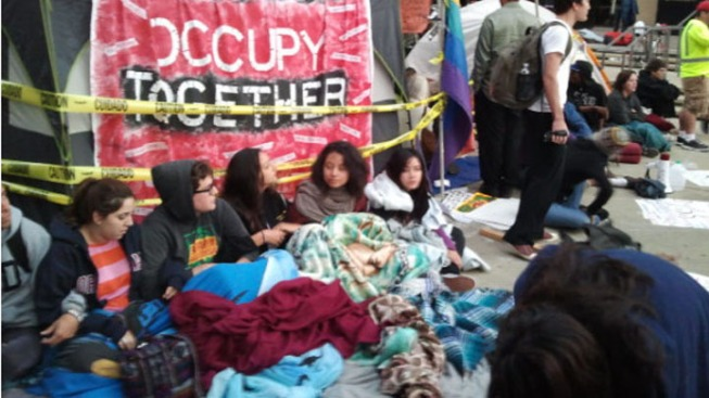 Occupy SD Disrupts City Council Meeting