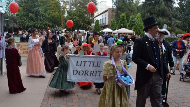 Time Travel Is Lit(erary) at the Riverside Dickens Fest