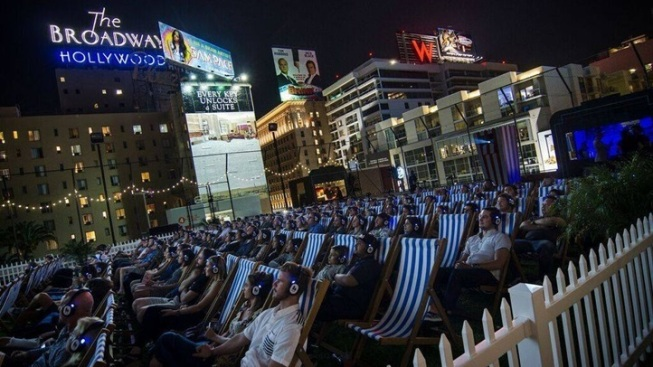 Rooftop Cinema Club to Debut at Manchester Grand Hyatt