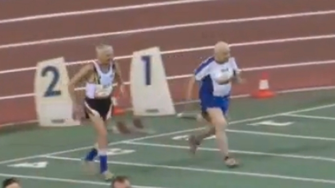 WATCH: Grandpas in Their 90s Compete in Race