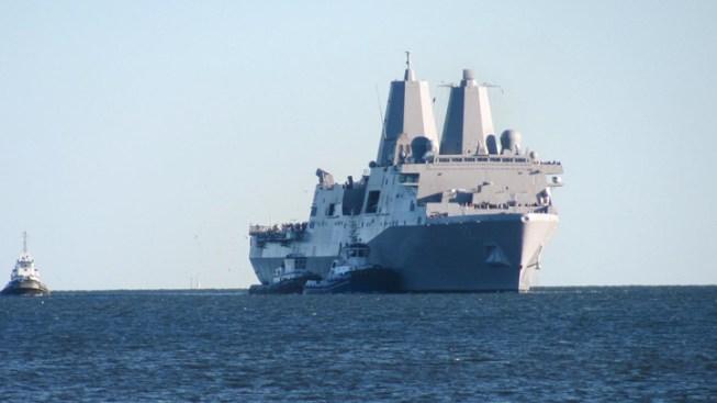 USS San Diego Comes Home