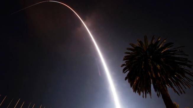 Rocket Launch Fails, Lands in Pacific