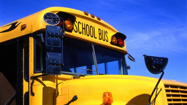 School Bus With Students Struck by Car