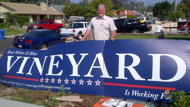 Poway Council Candidate Finds Campaign Sign Loophole