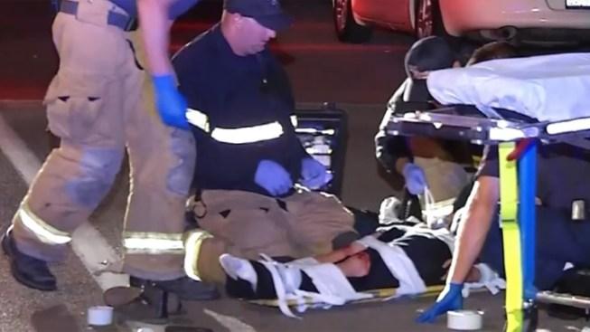 Skateboarder Struck by Car