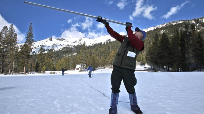 In Bad Sign for Water Supply, California Snowpack at Very Low Levels