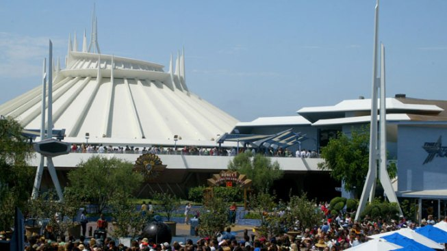 Disneyland Worker Injured After Sliding Off Space Mountain Ride