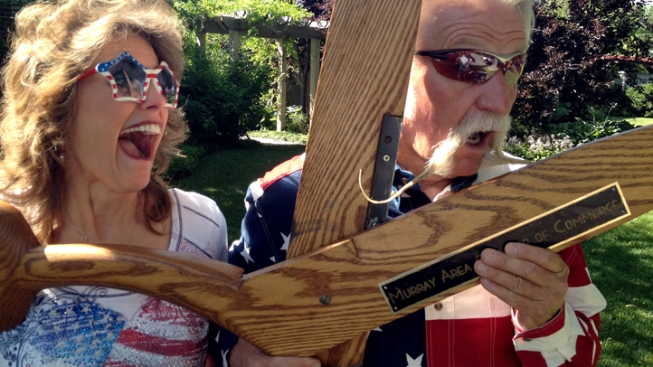 Mayor to Residents: Save or Shave 18-Inch Mustache
