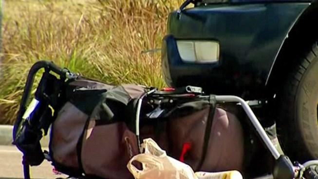 SUV Driver Ran Light in Stroller Crash: Police