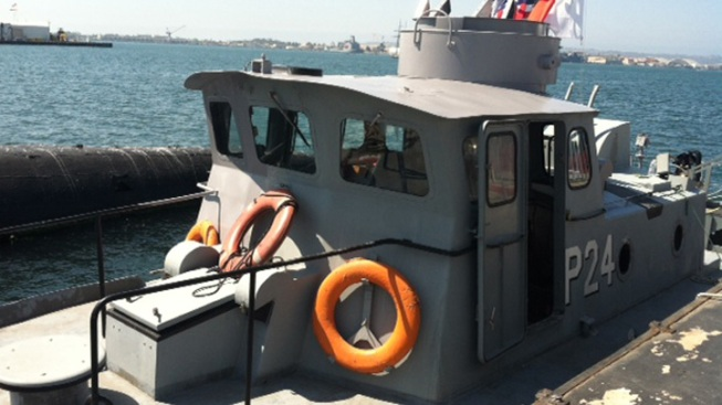 Swift Boat from Vietnam War Comes to San Diego
