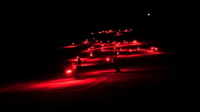 Mountain Glow: New Year's Eve Torchlight Parades