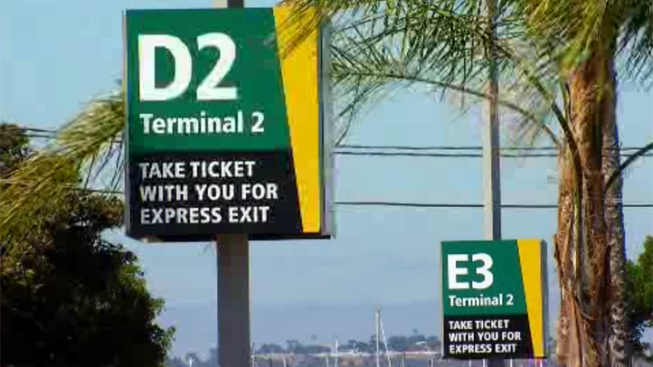 New Parking Lot Open at Lindbergh Field