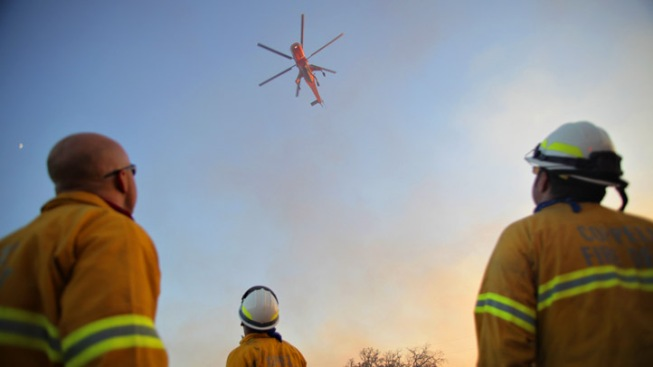 San Diego Sends Fire Captain to Texas