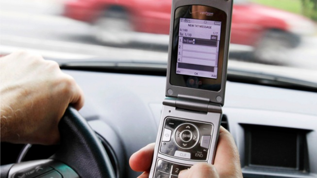 Nearly Half of Drivers Text: Study