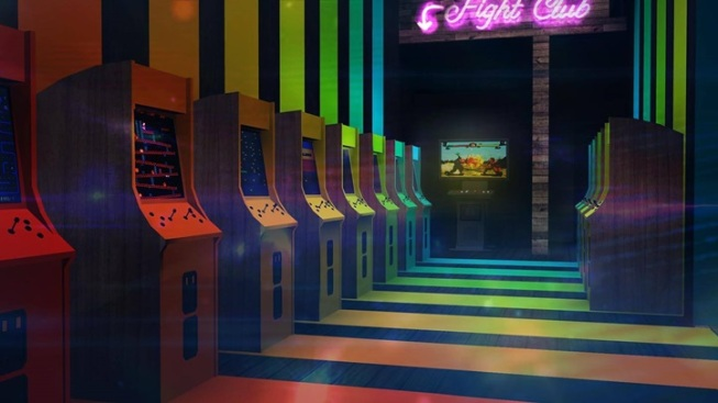 The One Up: Old-School Arcade + Fancy-Fun Edibles