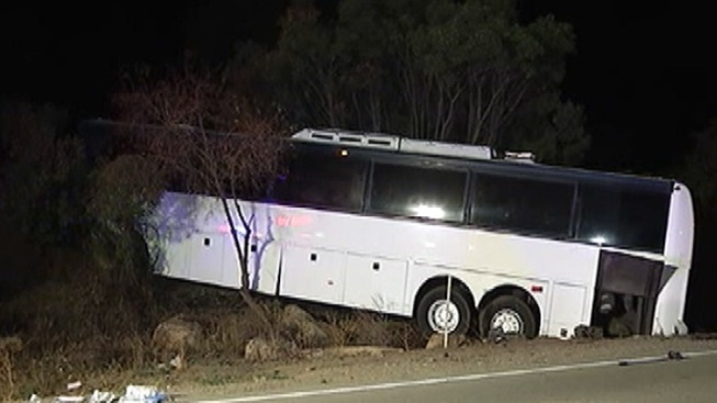 Tour Bus In Pala Crash Previously Cited for Brake Problems