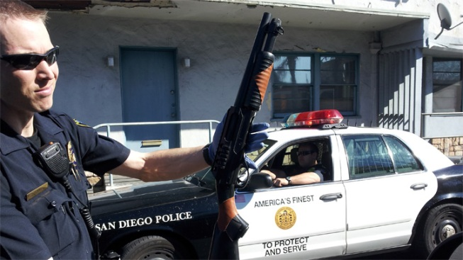 Man Arrested After Pointing Toy Shotgun: SDPD