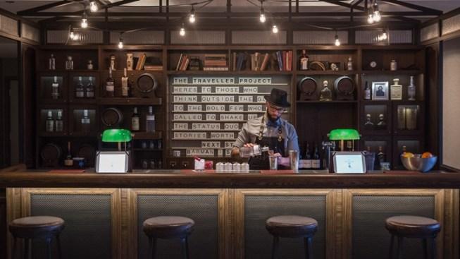 Pop-Up Traveller Bar at Loews Hollywood