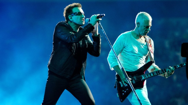 "U2 Honored As ""Greatest Act"" In Last 25 Years"