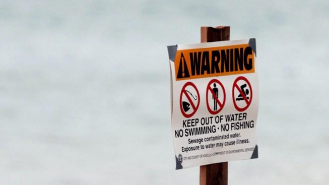 Sewage Contaminates San Marcos Creek