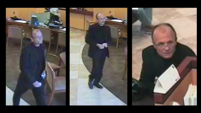 """Well-Dressed"" Bandit Robs Mira Mesa Bank"