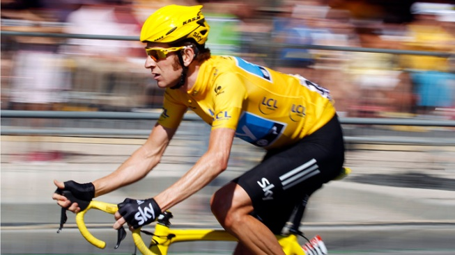 Wiggins 1st British Cyclist to Win Tour de France