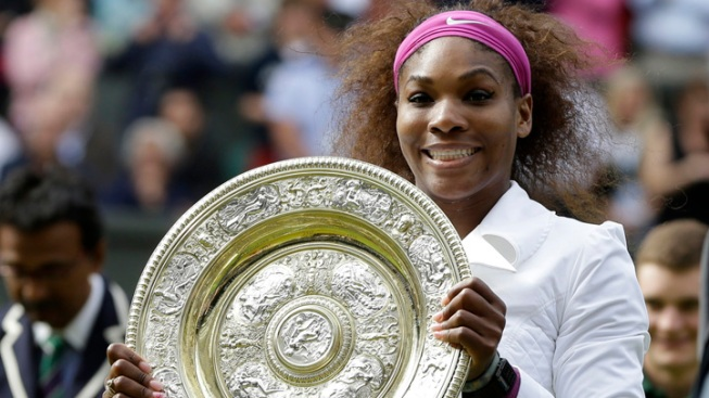 Serena Williams Wins 5th Wimbledon Title
